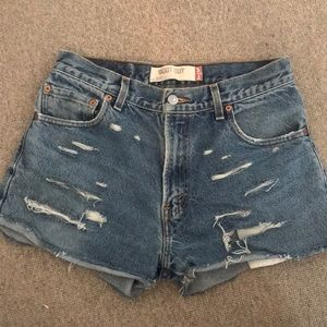 Denim shorts from UO